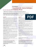 Articulo Proyecto Investigacion Postura Crianza