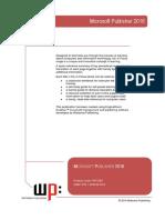 Publisher Manual 2016