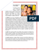 Principales Familias Indigenas de Colombia
