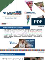 2019-081 Mayor Informacion Beca Presidente