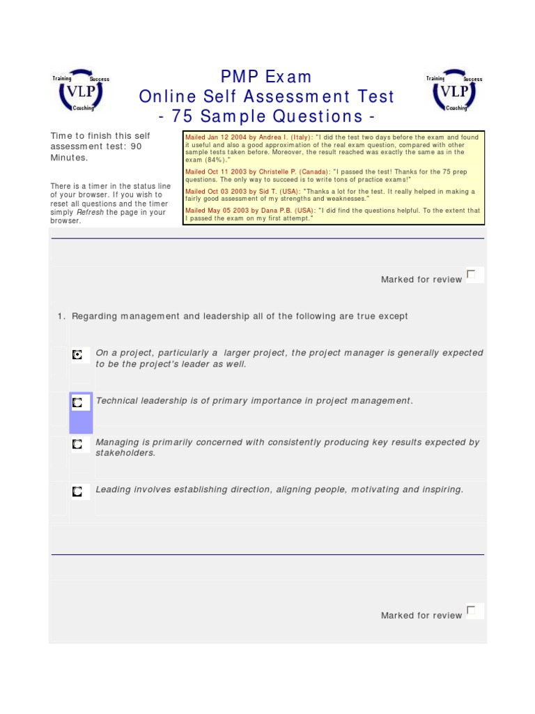 75a sample question project management risk management 1betcityfo Choice Image