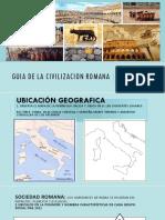 Guia Civilizacion Romana