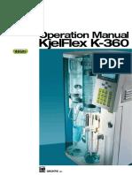 K-360 Operation Manual En