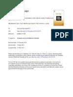 Structure-Activity Relationships of Potentiators of the Antibiotic Activity of Clarithromycin Against Escherichia Col