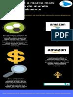 Amazon é a marca mais valiosa do mundo atualmente