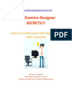IBM Domino Designer SECRETS
