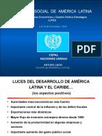 Panorama Social Arturo Leon