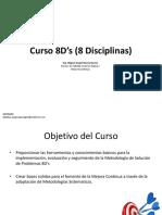 Curso 8D's (8 Disciplinas)
