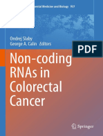 [Advances in Experimental Medicine and Biology 937] Ondrej Slaby, George a. Calin (Eds.) - Non-coding RNAs in Colorectal Cancer (2016, Springer International Publishing)