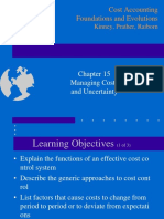 Ch15 Management Costs and Uncertainty