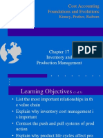 Ch17 Inventory and Production Management