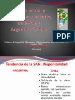 Estado Actual y Tendencias Recientes de SAN Arg-Chi