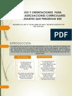 Criterios y Orientaciones Para Realizar Adecuaciones Curriculares Decreto 83(1)