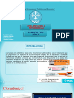 Tetraciclina y Clorafenicol