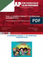 Plantilla Uap 2019-1b - Sesion 1. La Dignidad Humana y Los Derechos Fundamentales