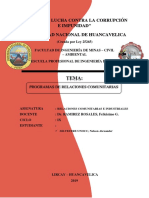 Programa de c0omunicacion e Información
