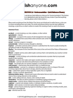 Environmentalism Quick Reference Glossary PDF