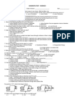 Diagnostic Test Science 8