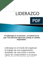 Liderazgo 1era Clase