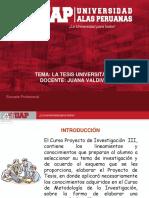 3.1. LA TESIS UNIVERSITARIA.pptx