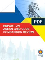 AGEP - Report on ASEAN Grid Code Comparison Review, 2018