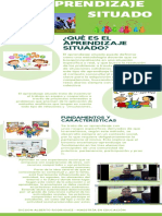Infografía Aprendizaje Situado