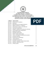 Mención Docencia en Educacion Superior Programas Extenso