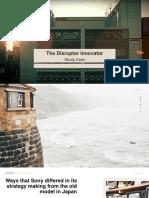 Study Case Manajemen Strategi - The Disruptor SONY