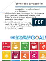 Sustainable Develop