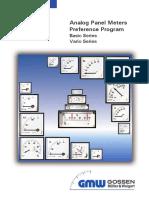 Analog Display Unit Catalog