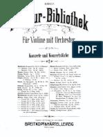 Mozart Violin Concerto No.3 Score