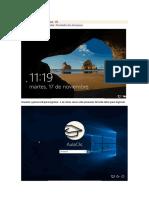 Escritorio de Windows 10