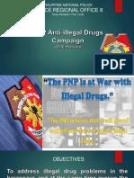 MODULE 1 - Session 3. PNP PRO-8 Anti-illegal Drugs Campaign Plan