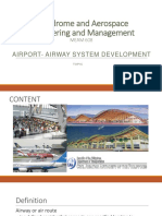 Airport Airway System Development