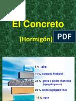 El concreto Hormigón