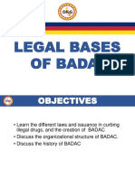 MODULE 3 - Session1. BADAC Legal Basis