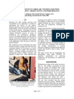 Self-Shielded Flux Cored Arc Welding for Steel Construction - Productivity and Performance