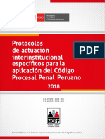 Protocolos de Actuación Interinstitucional Versión Final Ncpp 2004