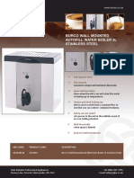 Burco 838862 Water Boiler