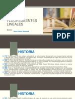 LAMPARAS FLUORESCENTES LINEALES
