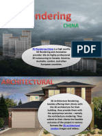 Innovative Architectural Visualization China  and trusted 3d ArchitecturalRenders