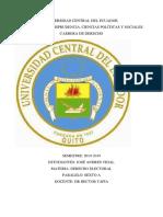 Resumen del las obligaciones del arrendatario en el derecho Ecuatoriano