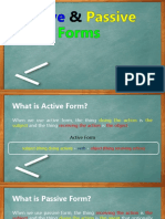 Active Passive RULES