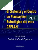 CEPLAN General VI