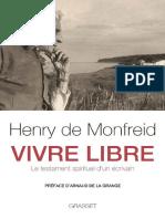 Vivre libre_ Le testament spiri - Henry de Monfreid.docx