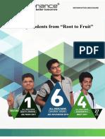 Resonance Information Brochure 2018-19