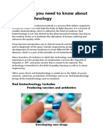Everything You Need to Know About Red Biotechnology