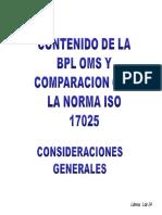 3 Modulo Comparacion Iso 17025 y Bpl Oms
