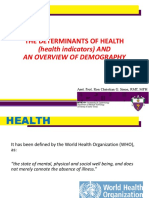 Health Indicators Demography