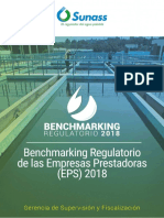 Benchmarking Regulatorio de Las Empresas Prestadoras - 2018